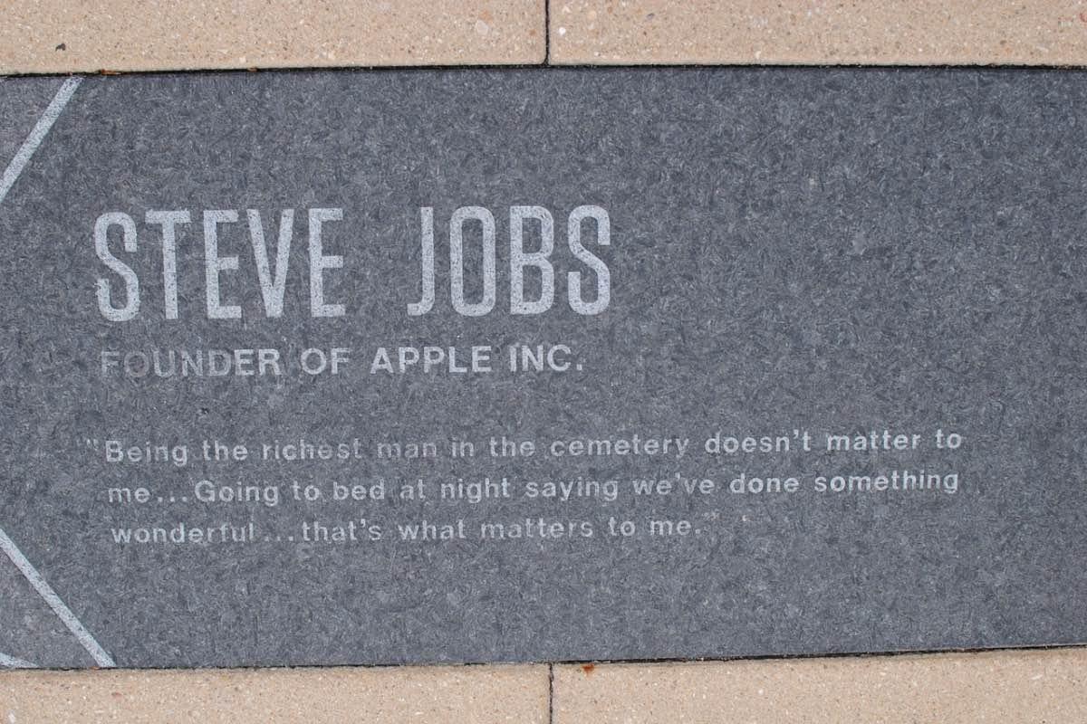 Citação de Steve Jobs
