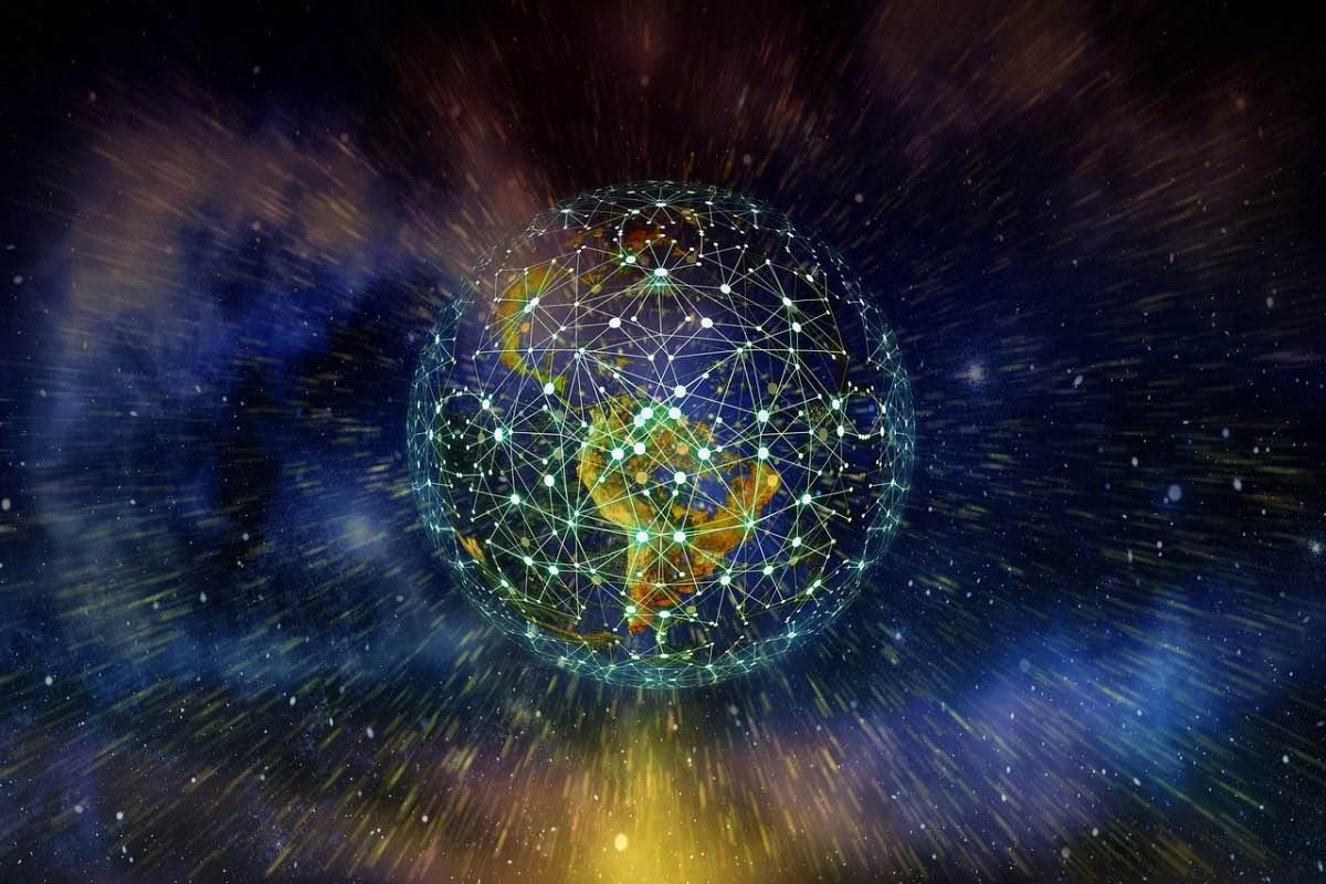 Planeta no universo totalmente conectado